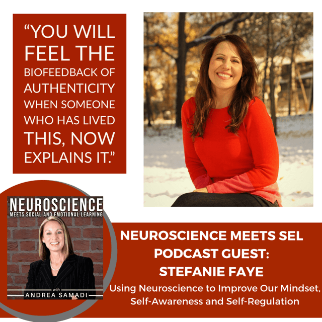 """Neuroscience Researcher Stefanie Faye on """"Using Neuroscience to Improve our Mindset, Self Regulation and Self-Awareness"""""""