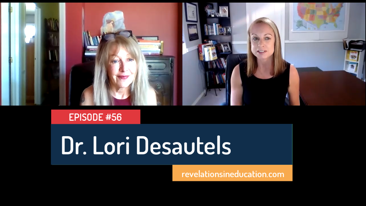 "Educational Neuroscience Pioneer Dr. Lori Desautels on her NEW book About ""Connections Over Compliance, Rewiring Our Perceptions of Discipline"""