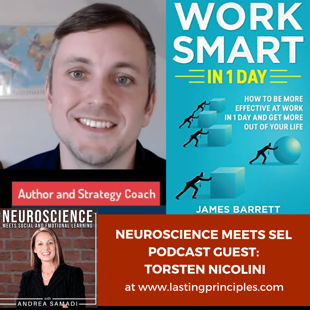 "Author and Strategy Coach Torsten Nicolini on ""Working Smart: How to Improve Productivity and Efficiency at Work"""