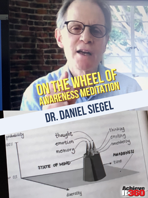 The Science and Benefits Behind a Meditation Practice with a Deep Dive into Dr. Dan Siegel's Wheel of Awareness.