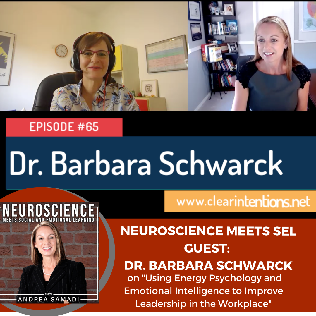 """Dr. Barbara Schwarck on """"Using Energy Psychology and Emotional Intelligence to Improve Leadership in the Workplace"""""""
