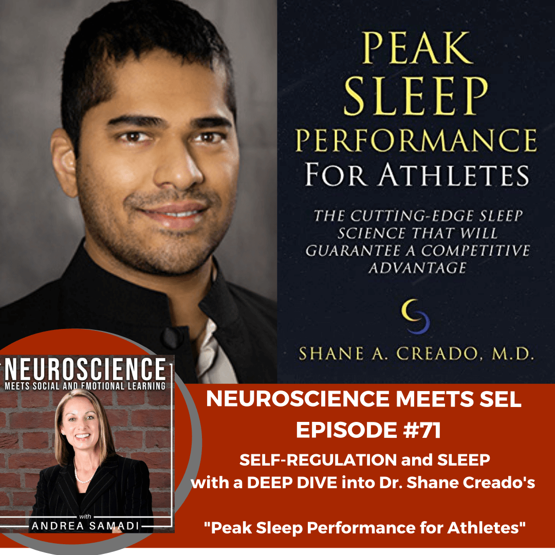 "Self-Regulation and Sleep with a Deep Dive into Dr. Shane Creado's ""Peak Sleep Performance for Athletes"""
