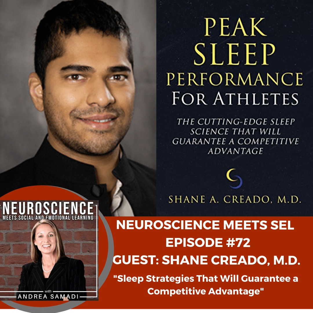 "Dr. Shane Creado on ""Sleep Strategies That Will Guarantee a Competitive Advantage"""
