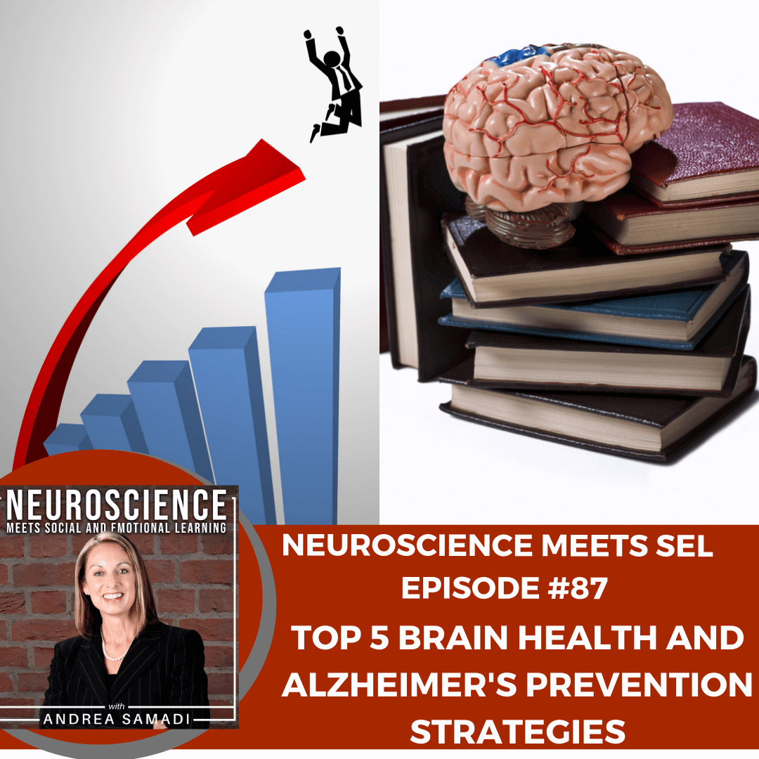 """""""The Top 5 Brain Health and Alzheimer's Prevention Strategies"""" with Andrea Samadi"""