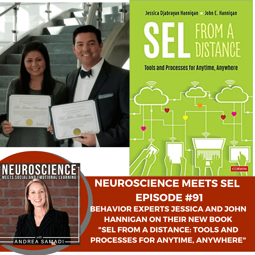 """Behavior Experts Drs. Jessica and John Hannigan on """"SEL From a Distance: Tools and Processes from Anytime, Anywhere."""""""