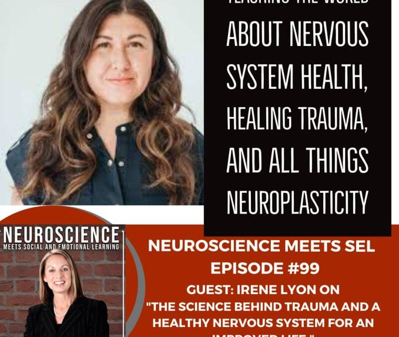 """Irene Lyon, Msc on """"The Science Behind Trauma and a Healthy Immune System for an Improved Life"""""""