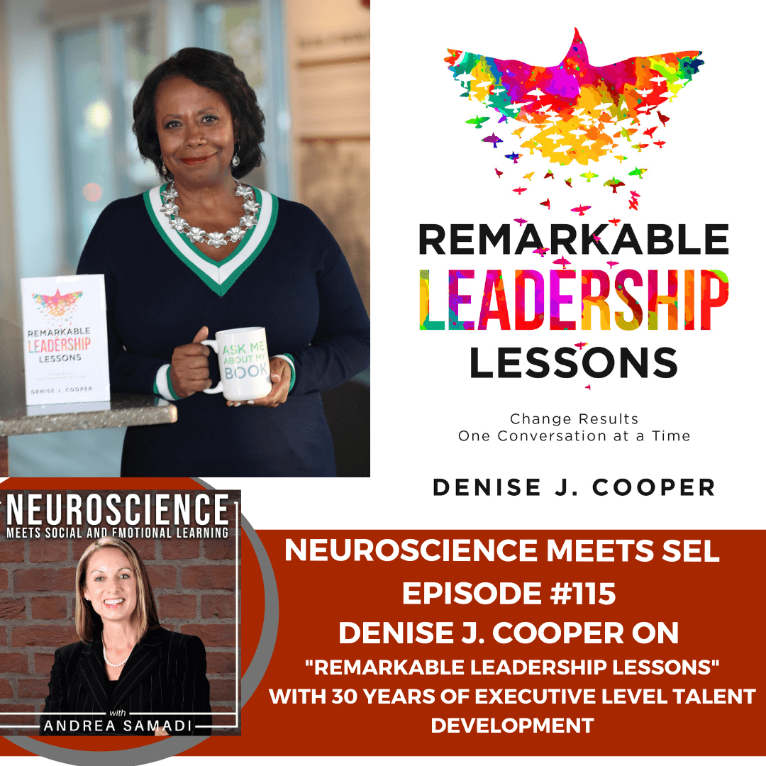 """Denise Cooper on 30 Years of Executive Level Talent Development with """"Remarkable Leadership Lessons"""""""