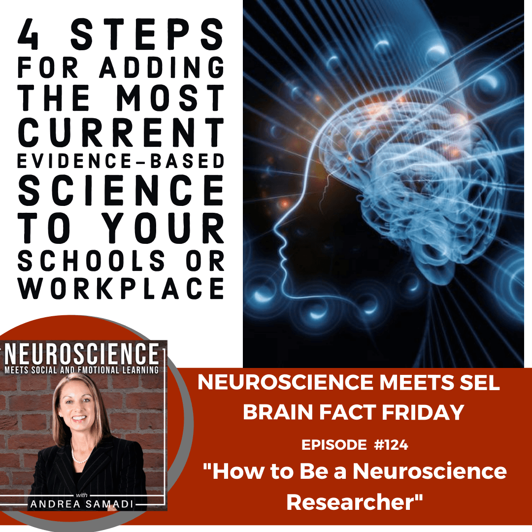 "Brain Fact Friday on ""How to Be a Neuroscience Researcher in 4 Simple Steps"""