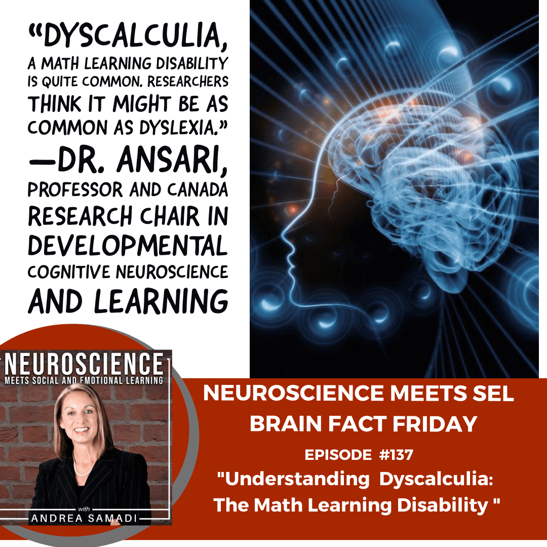 """Brain Fact Friday """"Understanding Dyscalculia: The Math Learning Disability"""""""