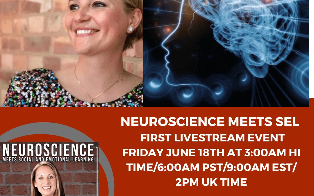 "Brain Fact Friday ""Neuroscience Q&A"" Livestream Andrea with Katherine Alexander-Dobrovolskaia"