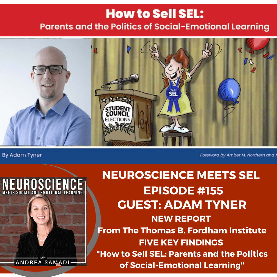 """NEW REPORT """"How to Sell SEL: Parents and the Politics of Social-Emotional Learning"""" by Adam Tyner, The Fordham Institute"""