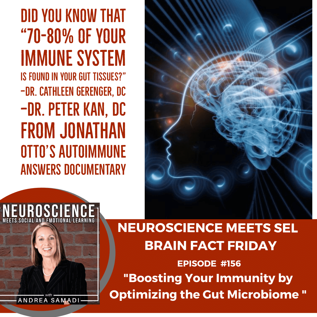 """Brain Fact Friday on """"Boosting Your Immunity by Optimizing Your Gut Microbiome"""""""
