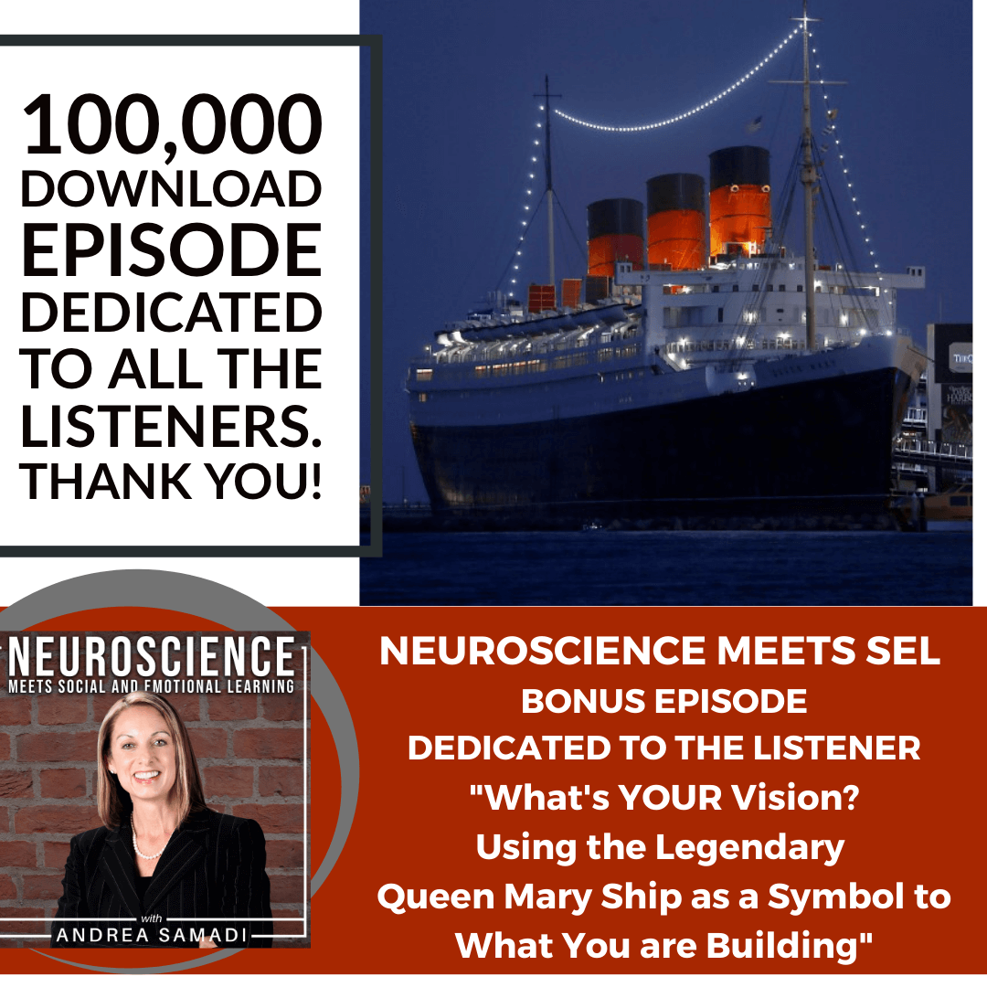 """100,000 Download Episode Dedicated to Listeners """"What's Your Vision: Using the Queen Mary Ship as a Symbol to What you Are Building"""""""