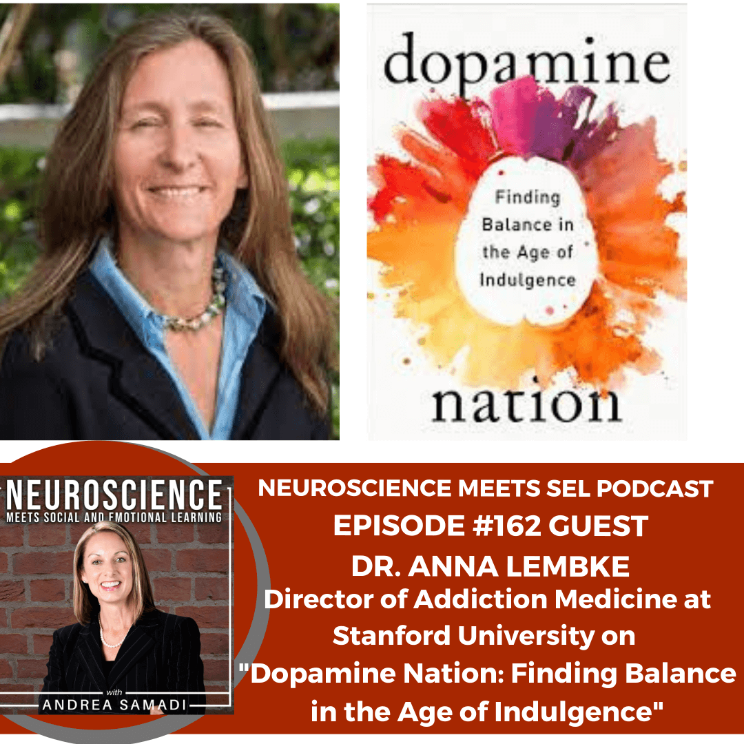 """Medical Director of Addictive Medicine at Stanford University, Dr. Anna Lembke on """"Dopamine Nation: Finding Balance in the Age of Indulgence"""""""