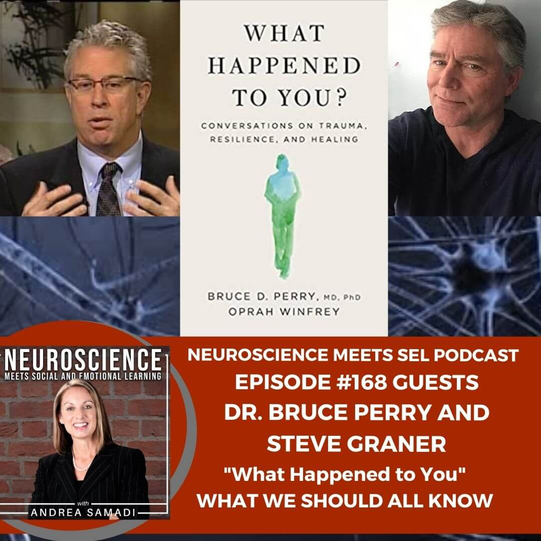 """Dr. Bruce Perry and Steve Graner from the Neurosequential Network on What We Should ALL Know About """"What Happened to You"""""""